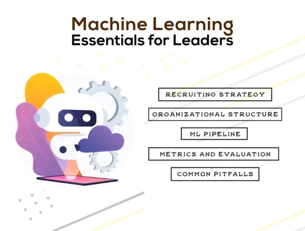 machine learning stuff for leaders