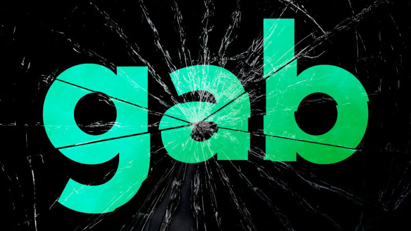 Gab, a haven for pro-Trump conspiracy theories, has been hacked again