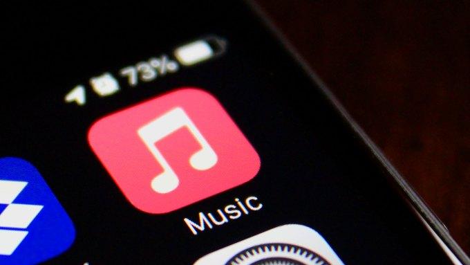 Apple Music icon on iPhone