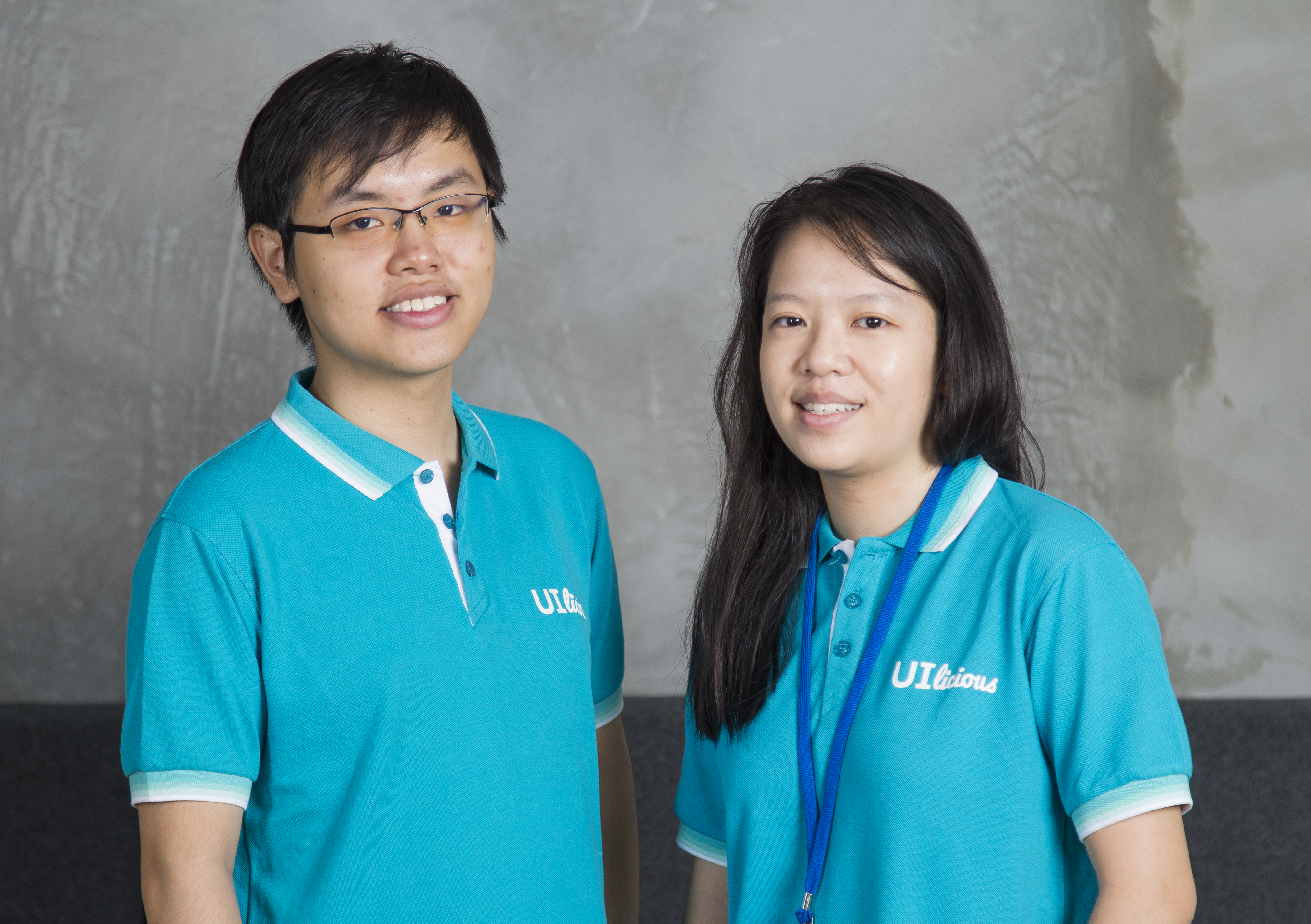 UI-licious' co-founders, chief technology police officer Eugene Cheah (left) coupled with chief executive officer Shi Ling Tai (right)