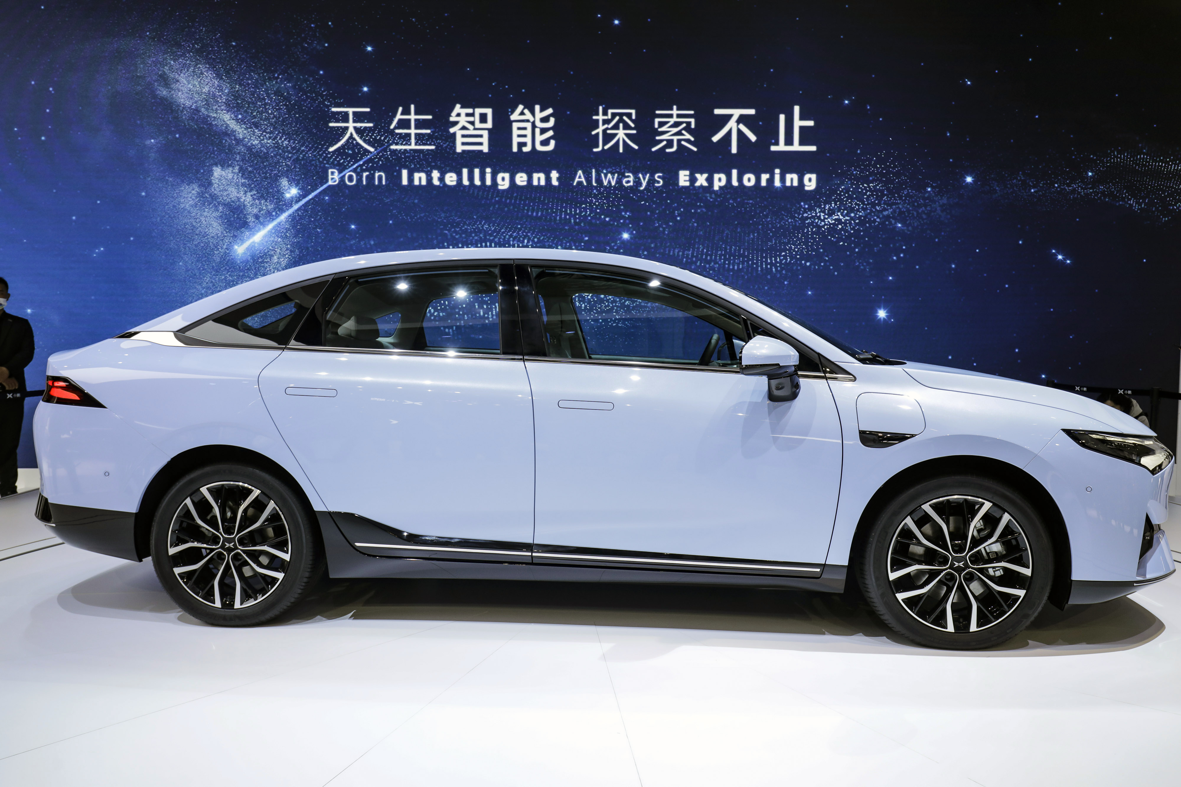 Xpeng P5 electric vehicle
