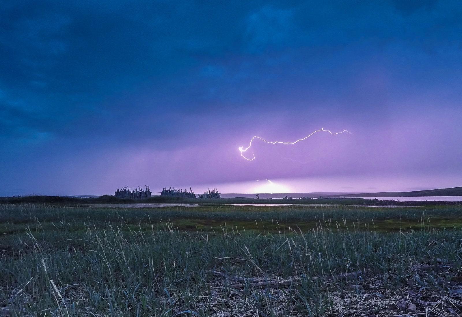 bolt of lightning